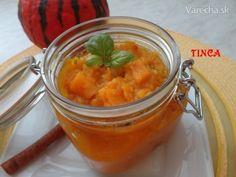 Tekvicovo-jablkové čatní - Recept