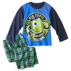 Monster's University Toddler Long-Sleeve Pajama Set
