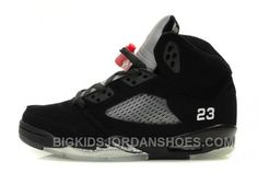 quality design 35444 05610 Nike Air Jordan V 5 Retro Spizike FIRE RED LACE LOCKS EBay Kids New