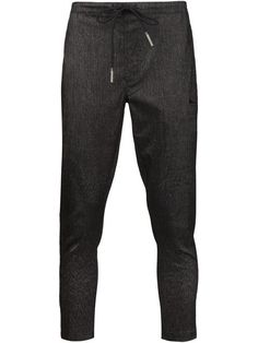 Shop Brandblack tapered drawstring trousers  in American Rag from the world's best independent boutiques at farfetch.com. Shop 300 boutiques at one address.