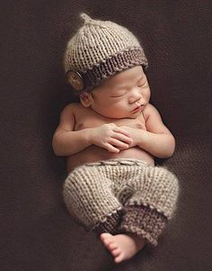 Boys Handmade Infant Baby Costume Knitted Beanies Hat Newborn Photography  Prop Crochet Hats Caps Accessories Newborn de1639a783be