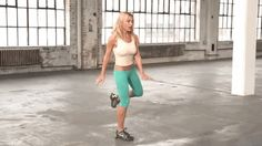 Tracy Anderson Exercise - GOOP Gwyneth Paltrow Dance Workout - ELLE magazine