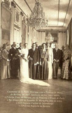 Príncipe Pedro Henrique de Orleans e Bragança e Bourbon & Princesa Maria Elizabeth von Wittelsbach (Baviera)