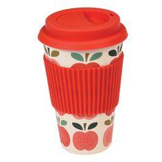 Vintage Apple Eco-coffee Cup