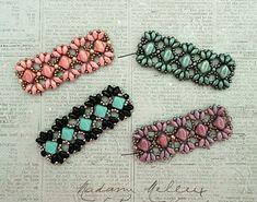 Linda's Crafty Inspirations: Playing with my beads...Mini Bridges Bracelet samples