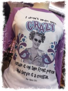 I Don't Hide My Crazy Raglan