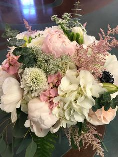 peonies and ferb theme song Pink Hydrangea Bouquet, Astilbe Bouquet, Single Flower Bouquet, Peonies And Hydrangeas, Tulip Bouquet, Peonies Bouquet, Pink Bouquet, Dried Flower Bouquet, Tulips