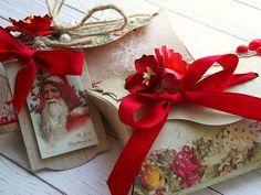Kreatywny blog Koczes: 97 - Ozdobne torebeczki na drobne prezenty