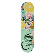 Here at SkateHut we have over 1000 skateboard decks for you to choose from! Shop decks from Element, Toy Machine, Baker, Plan B & loads more right here. Painted Skateboard, Skateboard Art, Skateboard Design, Custom Skateboards, Cool Skateboards, Best Skateboard Decks, Skates, Chocolate Skateboards, Longboard Design