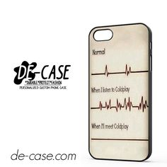 Coldplay Fan DEAL-2767 Apple Phonecase Cover For Iphone 5 / Iphone 5S