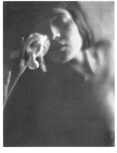 "firsttimeuser: "" The White Iris, 1921 by Edward Weston """
