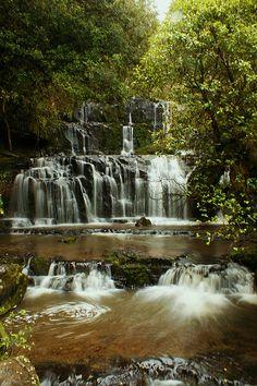 Purakaunui Falls - Otago, New Zealand