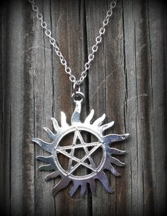 Sam Dean Winchester Supernatural Protection Symbol Tattoo Necklace by Christalinasales, $15.00 Winchester Supernatural, Sam And Dean Winchester, Sam Dean, Protection Symbols, Necklace Tattoo, Symbol Tattoos, Ink, Unique Jewelry, Handmade Gifts