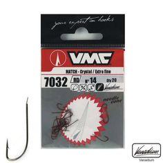 Τα αγκίστρια της VMC Circle 7381-ΒΝ είναι κατασκευασμένα με πολύ λεπτό και ανθεκτικό μέταλλο που τα καθιστά ιδανικά για την τεχνική ψαρέματος του εγγλέζικου.