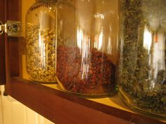 10 Herbs for your Kitchen Herbal Tea Closet