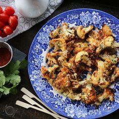 recette de chou fleur rôti Healthy Recipes, Entrees, Cauliflower, Shrimp, Nutrition, Snacks, Chicken, Vegetables, Keto Regime