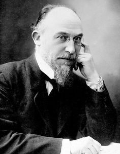 French pianist and composer Erik Satie (1866-1925). He was a  surrealist and wrote in impressionistic and minimalist styles.