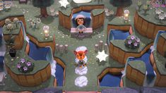 camille ❀ 🌾 on Animal Crossing 3ds, Animal Crossing Villagers, Art Floral, Entrance Design, Small Entrance, Entrance Ideas, Iphone Cover, Ac New Leaf, Nintendo