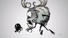 Deerclops and Webber