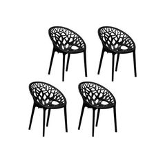 Buy Nilkamal Premium PP Chairs Set of 4 (Black) By HOMEGENIC by undefined, on Paytm, Price: Rs.10570?utm_medium=pintrest