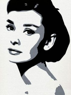 What is Your Painting Style? How do you find your own painting style? What is your painting style? Audrey Hepburn Kunst, Audrey Hepburn Painting, Audrey Hepburn Illustration, Black And White Painting, Black And White Portraits, Black White Art, Pop Art Portraits, Portrait Art, Digital Portrait