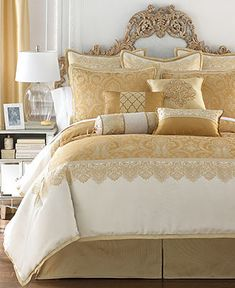 Waterford Sutton Square Queen Comforter Set - Bedding Collections - Bed & Bath - Macy's