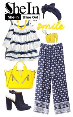 """""""FASHION THAT MAKES YOU SMILE"""" by carolsha on Polyvore featuring Beauxoxo, Steve Madden, Kenzo, Loewe and Kim Rogers"""