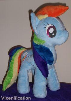 """My Little Pony: Friendship is Magic 12"""" Plush Toy ANY PONY. £45.00, via Etsy."""