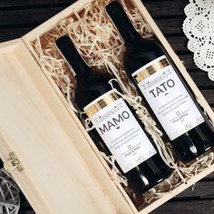 Zestaw win bezalkoholowych w skrzynce DZIĘKUJĘ