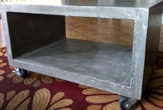 Diy Concrete Coffee Table Top                                                                                                                                                                                 More