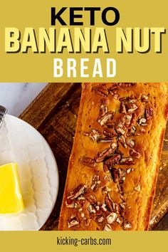 A little variety infuses my diet with excitement, and this Keto Banana Bread is a fun way to mix things up. It is light and moist and makes the perfect breakfast or snack. This recipe is the best way I know to enjoy the classic flavors I love while sticking to a low carb, gluten-free, and keto diet. Keto Banana Bread, Keto Bread, Best Low Carb Snacks, Keto Snacks, Easy Dinner Recipes, Holiday Recipes, Breakfast Recipes, Ketogenic Recipes, Low Carb Recipes