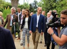 Sept 2, 2016 The Duke & Duchess of Cambridge Eden project in Cornwall and The Isles Scilly