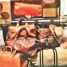 I have several pieces of similar Leather luggage in my collection