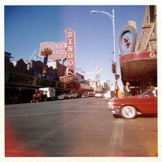 Las Vegas Fremont St, Las Vegas, October 1959