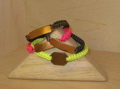 Love these neon ID bracelets! So cute