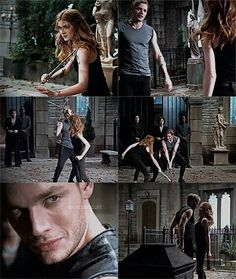 Omg I'm sorry but I just can't get over how sexy Dominic Sherwood playing Jace is lol. Clary Fray, Clary Et Jace, Jace Lightwood, Isabelle Lightwood, Shadowhunters Series, Shadowhunters The Mortal Instruments, Constantin Film, Fangirl, Cassie Clare