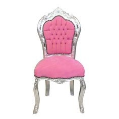1920s upholstered chic boudoir chair in pink so pretty. Black Bedroom Furniture Sets. Home Design Ideas