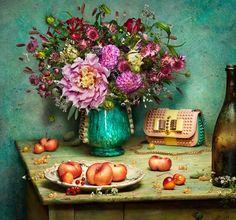 Monet + Van Gogh = Louboutin