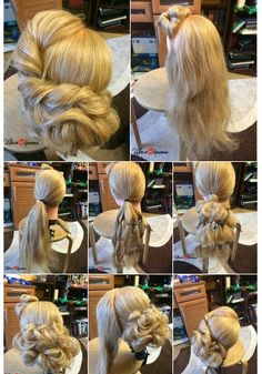 Perfect and easy UPDO