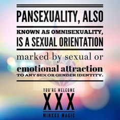 You're Welcome XXX Pansexual
