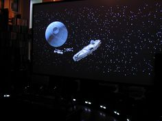 Star Wars NEVER looked or felt this GREAT!!!!!!!    (at the Kipnis Studio Standard (KSS) - Ultimate Home Theater Company