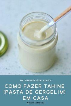 Dairy Free Recipes, Veggie Recipes, Vegetarian Recipes, Healthy Recipes, Vegan Recepies, Arabian Food, Tahini, Vegan Foods, Saveur