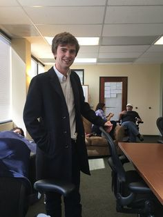 writes May episode. Dramatic and pivotal episode! Check it out! Norman, Good Doctor Series, Freddie Highmore, Camden Town, Bates Motel, Executive Producer, British Actors, Famous People, Tv Series
