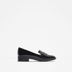 Image 1 of ANTIK LEATHER LOAFERS from Zara