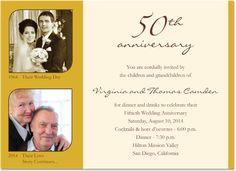 Free 50th wedding anniversary invitations templates 50th wedding 50 anniversary card shower invitations wedding anniversary invitations by red leaf papers photo anniversary stopboris Images