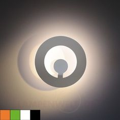 Design-Wandleuchte Absolut Circle LED 1057103X dimmbar 20 W LED