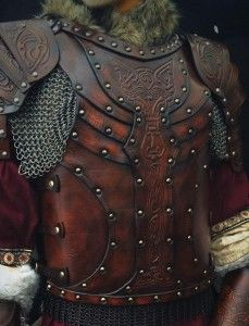 LARP Body Leather Armour