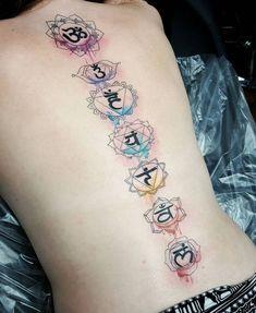 Fun on the lovely Danielle tonight, thank you lady! Fun on the lovely Danielle tonight, thank you lady! Tattoo Girls, Tattoo Son, Girl Back Tattoos, Mantra Tattoo, Yoga Tattoos, Spine Tattoos, Body Art Tattoos, Sleeve Tattoos, Tatoos