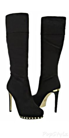Michael Kors Ailee Tall Suede Boot.  LBV