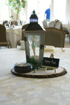 Disney art deco peter pan New ideas Disney Wedding Centerpieces, Wedding Themes, Wedding Decorations, Disney Decorations, Peter Pan Wedding, Dream Wedding, Wedding Day, Wedding Disney, Disney Weddings